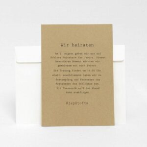 Einladungskarten Rügen Natur Vintage