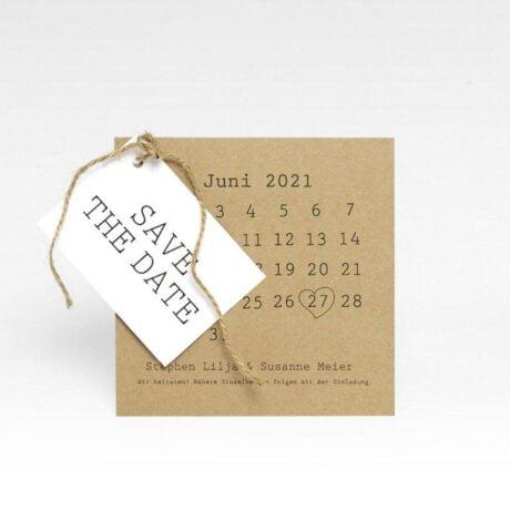 Save-the-date-Karte-mit-Anhänger-und-Kalender-