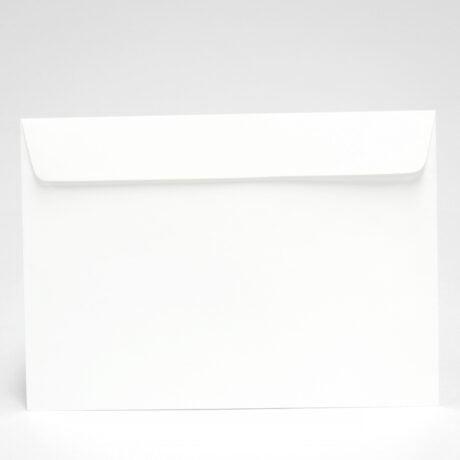 Weißer A5-Briefumschlag, 162x229 mm