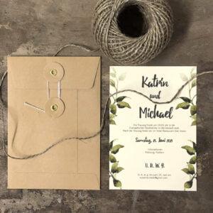 Druckartikel für Hochzeiten