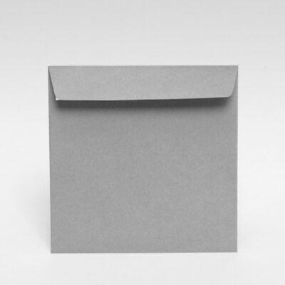 Grauer Briefumschlag 170 x 170 mm