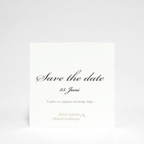 Save the date Karte Vaxholm
