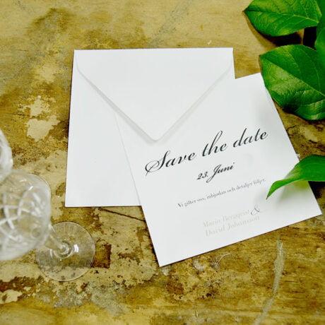 Save the date Karte Vaxholm Dekoration