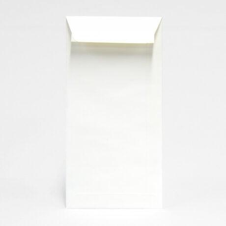 Weißer Briefumschlag im Längsformat 110x220 mm