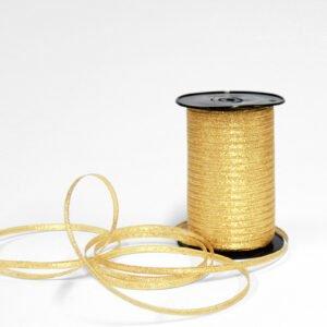 Goldfarbenes Glitzerband