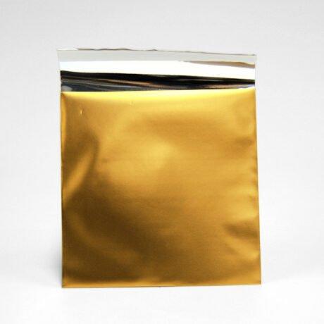 Kleiner Folienumschlag gold