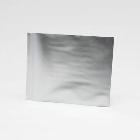 Kleiner Folienumschlag silber