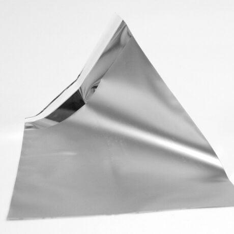 Kleiner Folienumschlag silber seite 1