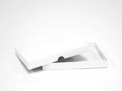 Weiß Schachtel